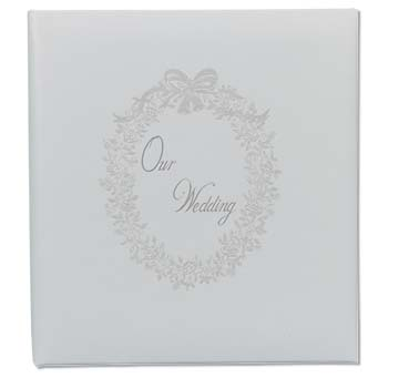 Topflight 5x5 Or 5x7 Embossed Our Wedding Archival Photo Al Proof Book