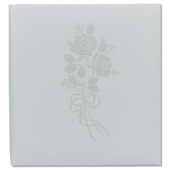 Topflight 5x5 Or 5x7 Embossed Rose Professional Archival Wedding Photo Album
