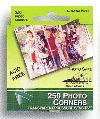 Pioneer Photo Safe Transparent Pressure Sensitive Adhesive Photo Corners for Scrapbooking from meritalbums.com