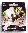 Pioneer Photo Safe Pressure Sensitive Adhesive Sticker Squares for Scrapbooking from meritalbums.com