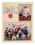 TAP-School-ABC-Alphabet-Easels-with-Apple-Memory-Mate-Cardboard-7x5-and-3-1/2x5-Picture-Frames