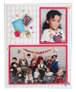 TAP-Easel-Memory-Mate-Elementary-School-7x5-and-3-1/2x5-Cardboard-Picture-Photo-Mount-Frames