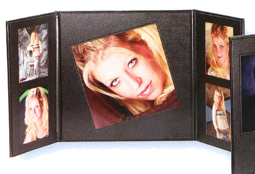 TAP Customview Wing 8 Folio with 4x5 Pictures