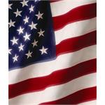 "American Flag PM-3403 Stars & Stripes 4""x6"" Photo Mount"