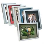 "Shadow Boxes 4""x6"" Photo Frame with Mat and Glass #8146"