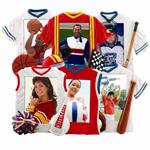 "Resin Sports Jersey 3.5"" x 5""Photo Frames"