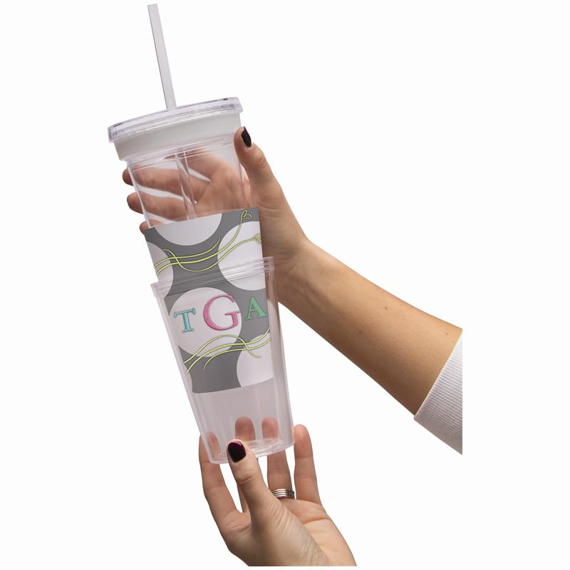 16oz Photo Tumbler With Straw Create Your Own Tumbler