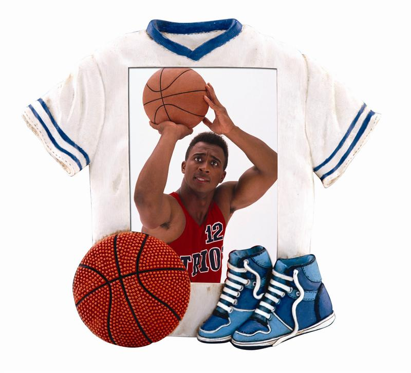 Home > Picture Frames > Sports Jersey Resin Frames > 3513S Basketball ...: www.meritalbums.com...