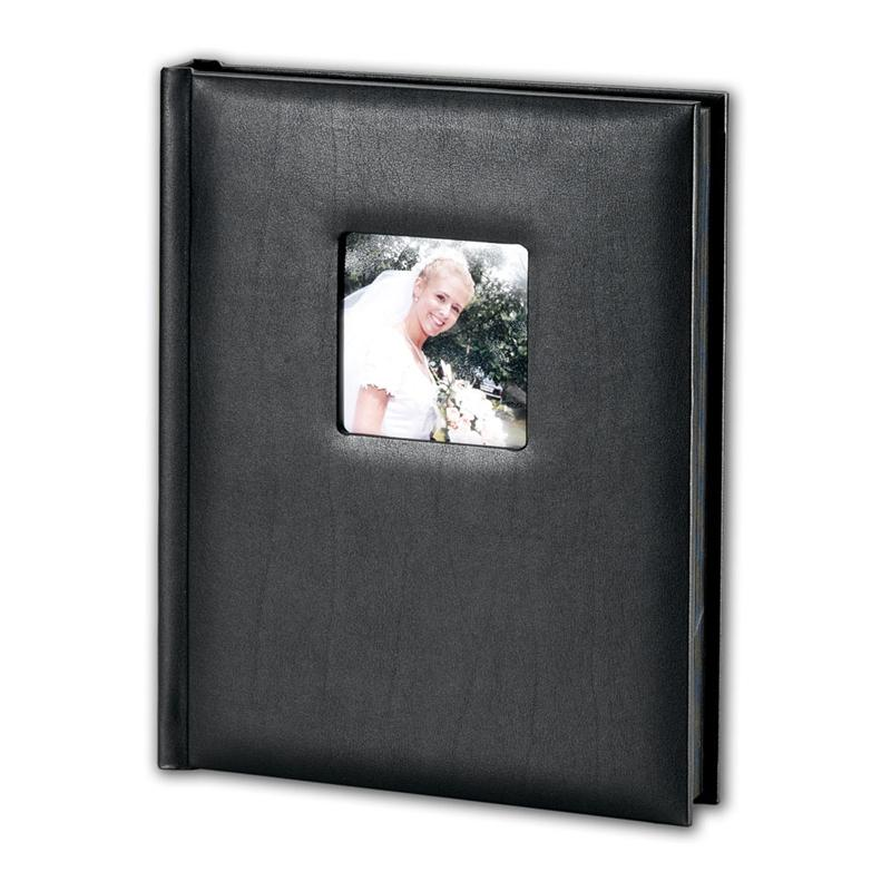 8x10 Wedding Albums: TAP Superior Mount Professional Wedding Photo Albums Black