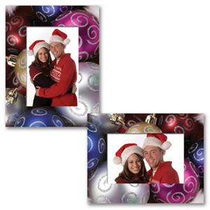 paper frame christmas ornament for 6