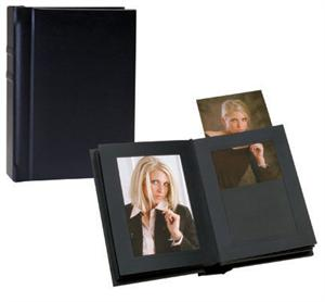 tap wedding albums marshall black slip in simulated leather proof