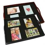Personalized Photo Trays and Serving Trays from Faux Wood