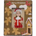 Christmas Candy Canes Ginger Bread House Slate Resin 4