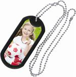 Personalized Custom Photo Dog Tag Key Chain