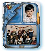 TAP-Memory-Mate-Easel-Backpack-Grade-School-3-1/2x5-and-7x5-Cardboard-Picture-Frame