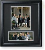 TAP 8x10 & 10x4 Black Wooden Picture Frame