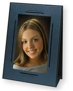 TAP Empire Easel Pewter-Black 5x7 or 7x5 Cardboard Picture Frames
