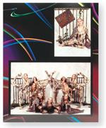 TAP Easels Photo Folder PF-58 Colored Cardboard Picture Frames