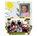 My Artwork Elementary Preschool Memory Mate Photo Easel with Autograph Area