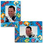 Paper Frame Luau Picture Frame for 4