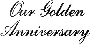 Our Golden Anniversary Wedding Photo Album Imprinting Die from meritalbums.com