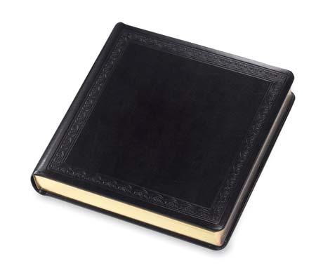 Renaissance Album Wedding Photo Books Black Library Bound