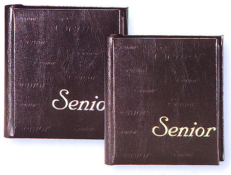 tap photo albums proof books parade senior graduation commencement 4x5 or 4x6 simulated leather. Black Bedroom Furniture Sets. Home Design Ideas