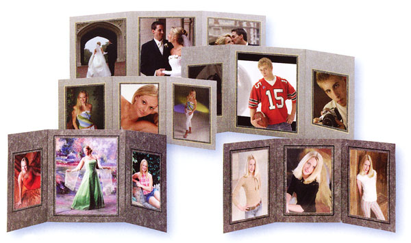 Tap Folders Trinity Cardboard Picture Frames And Photo Mounts For
