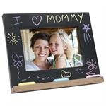 "Mother's Day Gift - I Love Mommy Chalk Board 6""x4"" Photo Picture Frame"