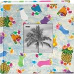 Pioneer-Tropical-Drinks-Fabric-Frame-12x12-Scrapbooks