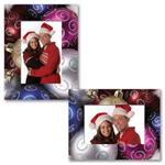 Christmas Paper Frame Photo Easel for 4x6 or 5x7 Pictures