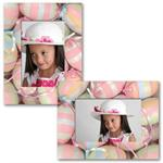"PF-Paper Frame Easter Egg Easel for 4""x6"" or 6""x4"" Digital Photos"