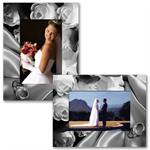 "Paper Frame Wedding Easel for 4""x6"", 6""x4"", 5""x7"", or 7""x5"" Photos"