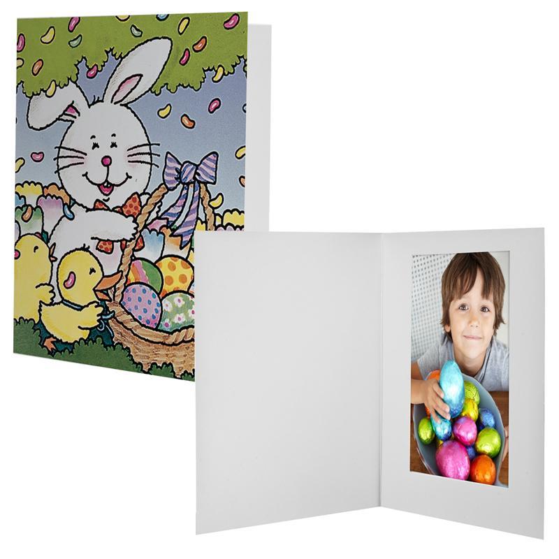 Easter Bunny Basket Photo Folder,4x6 Easter Bunny Photo Folders,5x7 ...