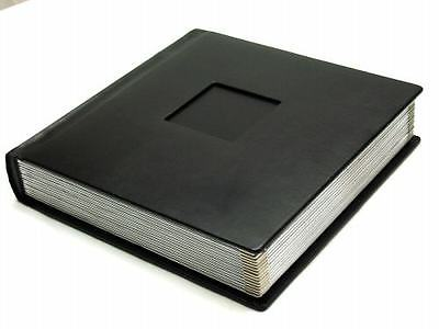 Regal Traditional Wedding Albums Black Silver Library Bound With