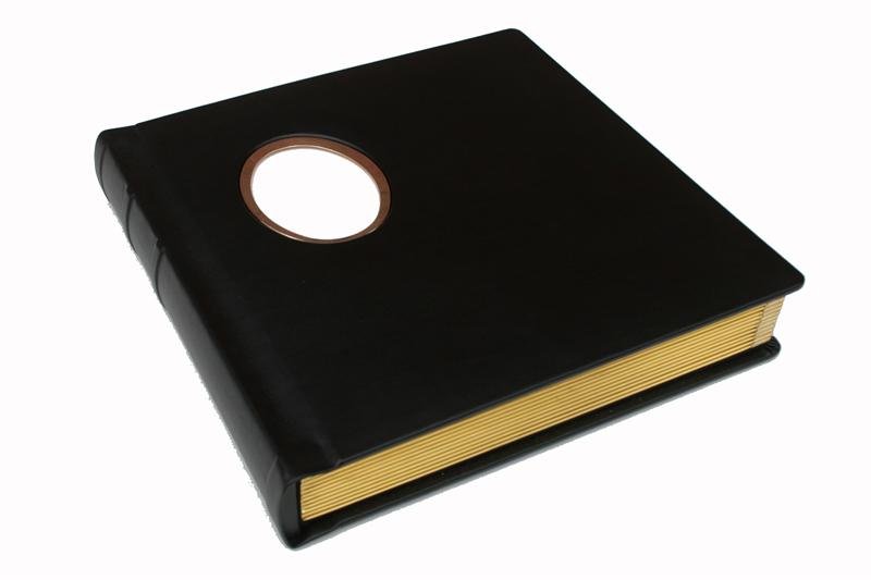 Regal Traditional Wedding Albums Library Bound With Window For 4x5