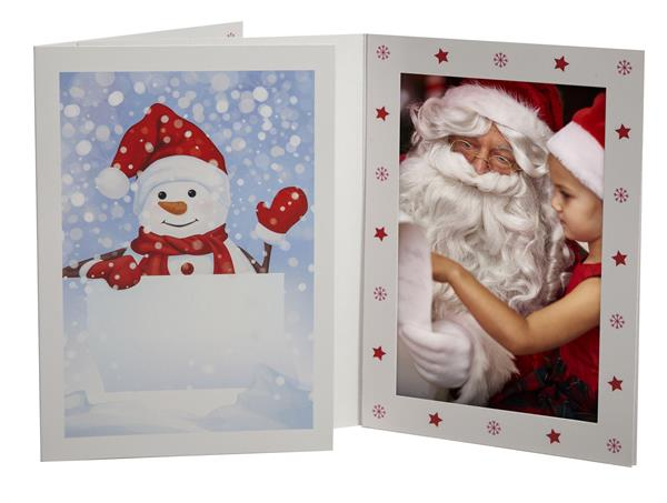 Tap Snowman Christmas Photo Mounts For 4x6 And 5x7 Digital Family