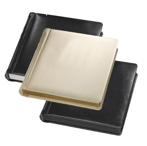 Professional 10x10 Ivory 20 Pages Wedding Photo Album with 40 4-4X6 Mats