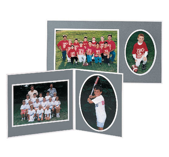 Tap Memory Mate Easel Pf 40 Gray Cardboard Picture Frames For 10x8