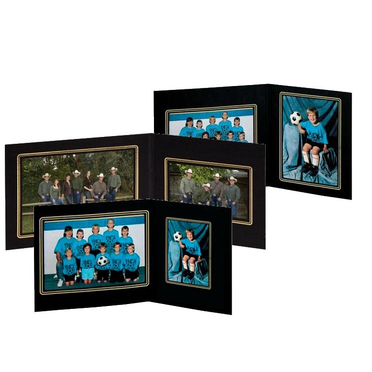 Tap Photo Folders Sycamoretap Folders Sycamore Black Cardboard