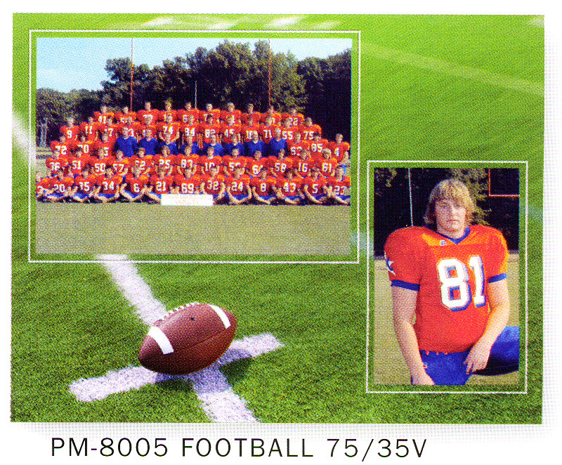 Tap Pm 8005 Football Cardboard Sports Memory Mate Easels