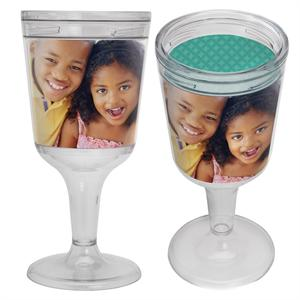 Make-Your-Own Personalized Photo 11oz. Wine Goblet
