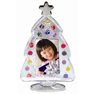 Christmas Tree Snow Globe Sold Wholesale for Family and Children Holiday Photos