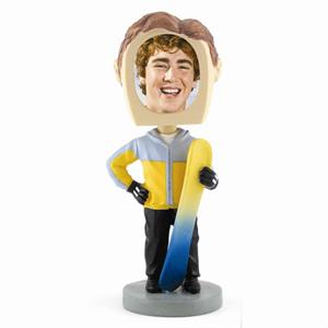 Bobbleheads Snowboarder Sports Photos Custom Personalized Sold Bulk