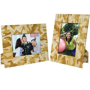 Military Camo Paper Frames PF-3233 Easels for 4x6 or 6x4 Digital Photos