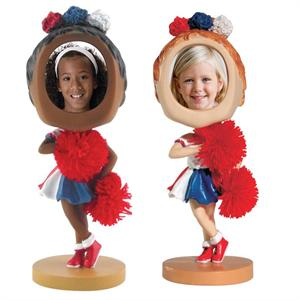 Bobblehead Cheerleader Photo Sports Custom Personalized For Sale Bulk Quantity