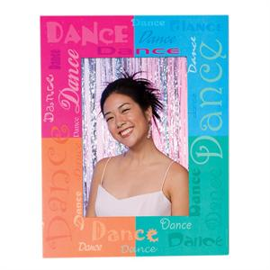 Dance Paper Frame Easel 5x7 or 7x5 Dancing Event Photo Folder pf-3230
