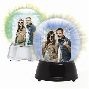 AAA LED Light Up Photo Snowglobes