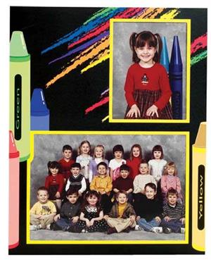 TAP-Easel-Crayon-Cardboard-Picture-Frame-3.5x5-&-7x5-Elementary-School