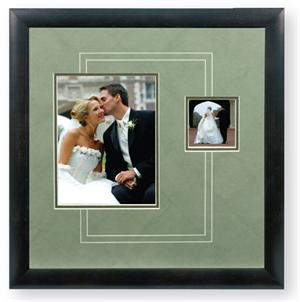 TAP Austin 8x10 & 4x4 Wedding Picture Frame